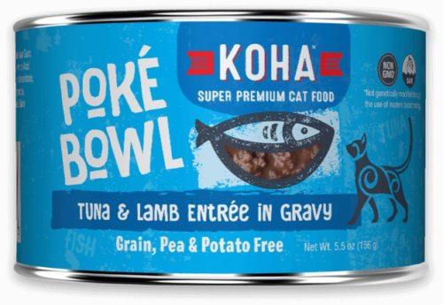 Koha Cat Can Poke Bowl Tuna/Lamb 5.5 oz
