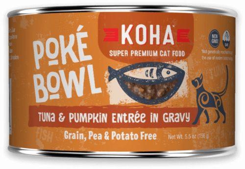 Koha Cat Can Poke Bowl Tuna/Pumpkin 5.5 oz