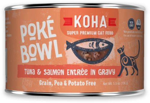 Koha Cat Can Poke Bowl Tuna/Salmon 5.5 oz