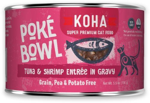 Koha Cat Can Poke Bowl Tuna/Shrimp 5.5 oz