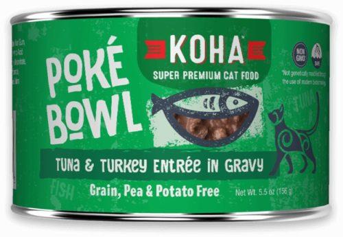 Koha Cat Can Poke Bowl Tuna/Turkey 5.5 oz