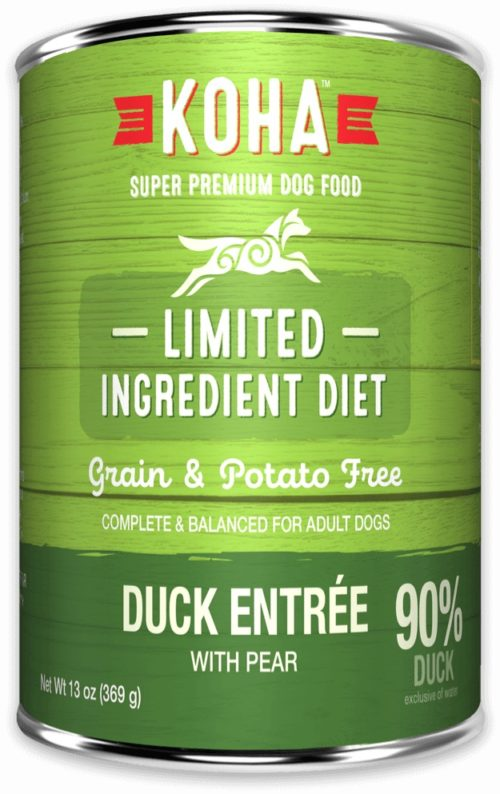 Koha  KOHA DOG LID PROTEINS  Duck  13 OZ