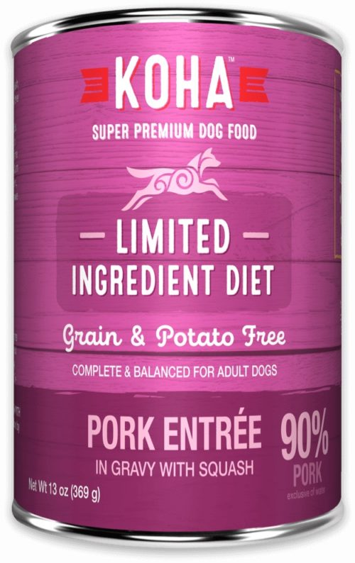 Koha  KOHA DOG LID PROTEINS  Pork  13 OZ
