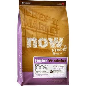 NOW!  NOW! Grain Free Senior Cat  Senior  4#