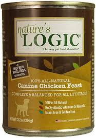 Nature's Logic Dog Canned  Nature's Logic Dog Canned Chicken  Chicken  13.2oz