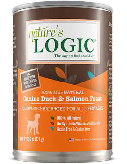 Nature's Logic Dog Canned  Nature's Logic Dog Canned Duck/Salmon  DuckSalmon  13.2oz