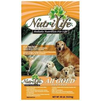 Nutri Life All Gold  Nutri Life All Gold  Breeder  40#