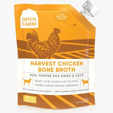 Open Farm Bone Broth Chicken 12oz