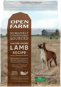 Open Farm Dog Kibble  Open Farm Dog Kibble  Pasture Lamb  12#