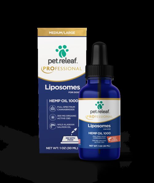 Pet Releaf  Pet Releaf Lipsome CBD Hemp Oil  Liposome1000  1000mg