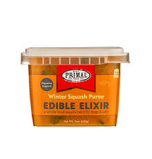 Primal Frozen Edible Elixir Winter Squash Puree 16oz