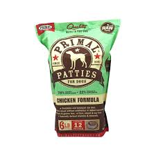 Primal Pet Food Dog Chicken  6#
