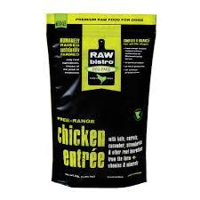 Raw Bistro  Raw Bistro Chicken Entree  Chicken  6#
