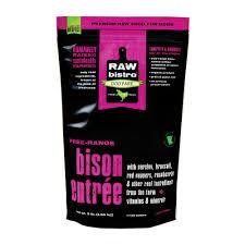 Raw Bistro  Raw Bistro Grass Fed Bison Entre  Bison  6#