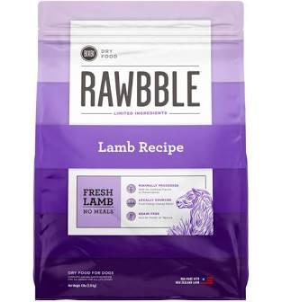 Rawbble Dog Kibble  Rawbble dog kibble lamb  lamb  24#