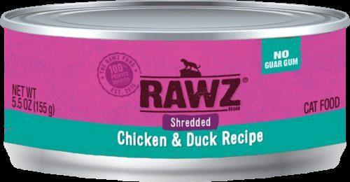 Rawz Cat Canned  Rawz Cat Canned Food  ShredChDuck  5.5 oz