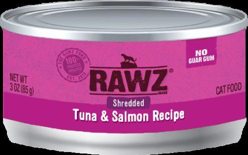 Rawz Cat Canned  Rawz Cat Canned Food  ShredTnaSal  5.5 oz