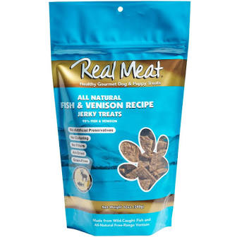 Real Meat  Real Meat Fish & Venison  FishVe   4 oz