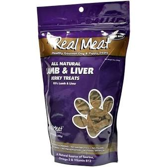 Real Meat  Real Meat Lamb Liver - dog  LambLiver   12 oz