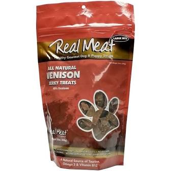 Real Meat  Real Meat Venison Treat  Veniso   4 oz