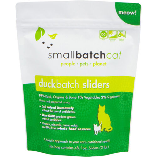 Small Batch  Small Batch Frozen Cat Food Duck  Duck  3#