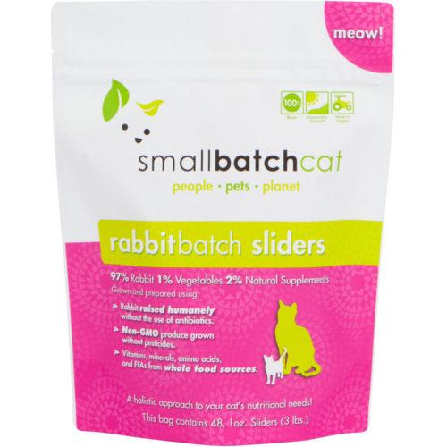 Small Batch  Small Batch Frozen Cat Food Rabbit  Rabbit  3#