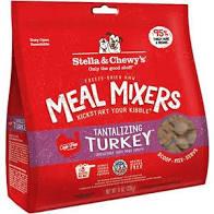 Stella & Chewy's Freeze Dried  Stella & Chewy's Freeze Dried Meal Mixer Turkey  MealMixTurk  3.5oz