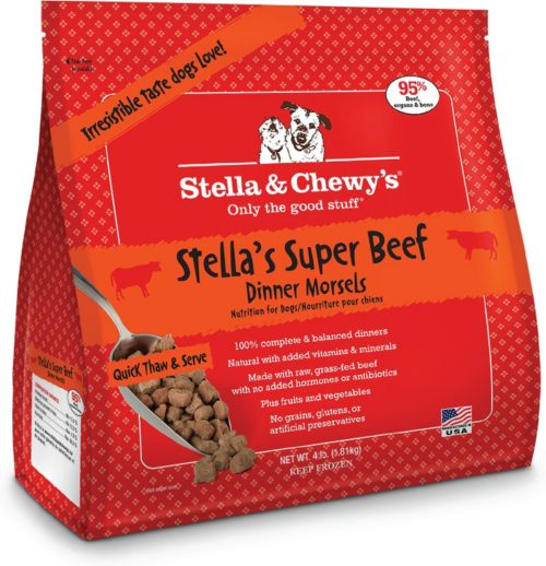 Stella & Chewy's Raw  Stella & Chewy's Raw Beef Dinner Morsels  Beef  4 lb