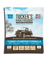 Tucker's Raw Diet  Tucker's Raw Diet Turkey-Pumpkin  Turkey/Pumpk  6#