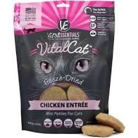 Vital Essentials  Vital Essentials Cat Mini Patties  Chicken  8oz