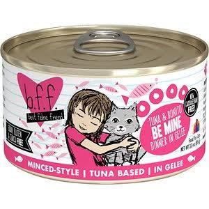 Weruva BFF Tuna & Bonito  Weruva BFF Tuna & Bonito Be Mine  Be Mine  5.5oz