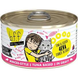 Weruva BFF Tuna & Chicken  Weruva BFF Tuna & chicken 4-Eva  4-Eva  3oz