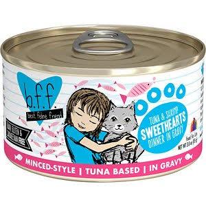 Weruva BFF Tuna & Shrimp  Weruva BFF Tuna & Shrimp Sweethearts  Sweethearts  5.5oz
