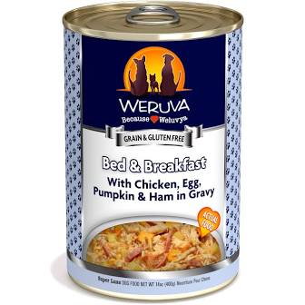 Weruva Canned Dog Food  Weruva Bed & Breakfast  B & B  14 OZ