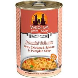 Weruva Canned Dog Food  Weruva Jammin Salmon  JamminSalmon  14 OZ