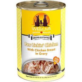 Weruva Canned Dog Food  Weruva Paw LIckin Chicken  Pawlickin'  14 OZ