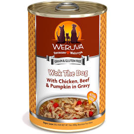 Weruva Canned Dog Food  Weruva Wok The Dog  Wok the Dog  14 OZ