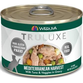 Weruva Cat Food  Weruva Cat Truluxe Mediterranean Harvest  MedHarvest  6oz