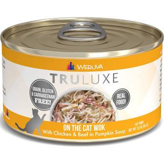 Weruva Cat Food  Weruva Cat Truluxe On The Cat Wok  Cat Wok  6oz