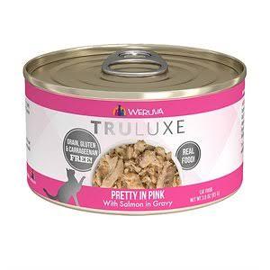 Weruva Cat Food  Weruva Cat Truluxe Pretty In Pink  PrettyInPink  6oz