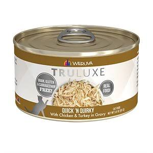 Weruva Cat Food  Weruva Cat Truluxe Quick N Quirky  QuickNQuirky  6oz