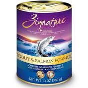 Zignature  Zignature Dog Canned Trout/Salmon  TroutSalmon  13oz