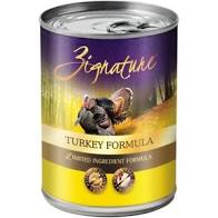 Zignature  Zignature Dog Canned Turkey  Turkey  13oz