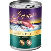 Zignature  Zignature Dog GF Salmon  GFSalmon  13 oz